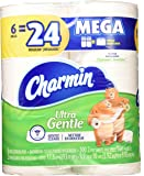 Charmin Mega Rolls Ultra Gentle, 6 ea