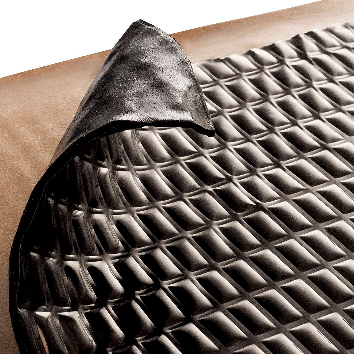 Sound deadening material sound Insulation Sound deadening Bulk Kit Sound Deadening mat 80 mil 12 sqft Sound dampener Sound Deadener Mat Sound Dampening material