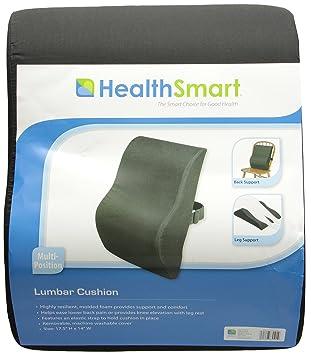 Amazon.com: HealthSmart – HealthSmart – Cojín lumbar ...