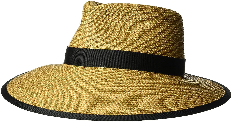 Eric Javits Women's Sun Crest-Natural/Black, One Size 13820-NABL
