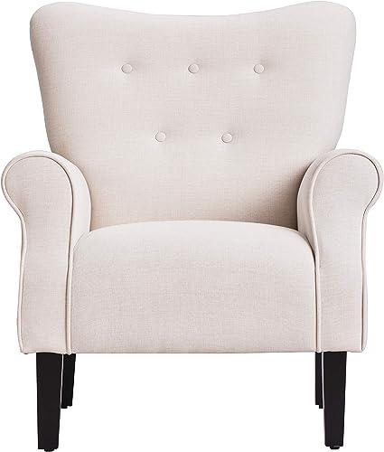 Merax Modern Upholstered Accent Chair Armchair