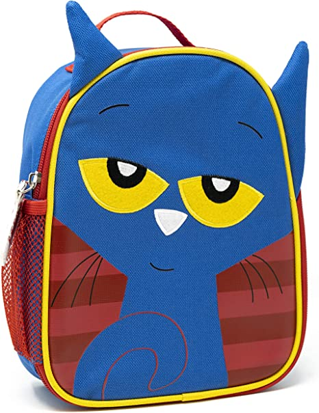 Childrens Adult Lunch Bag Cool Bag School Cat Gift Insulated Bags Lunchbox J