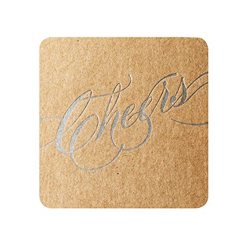 Adventure Letterpress Paper Coasters