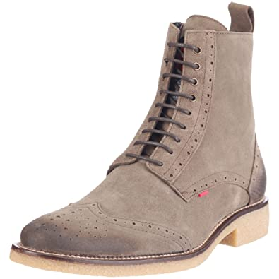 new concept 799ad 4bfb5 Strellson Mens Howard Mid Lace Il 62/02/01022 952 Boots Grey ...