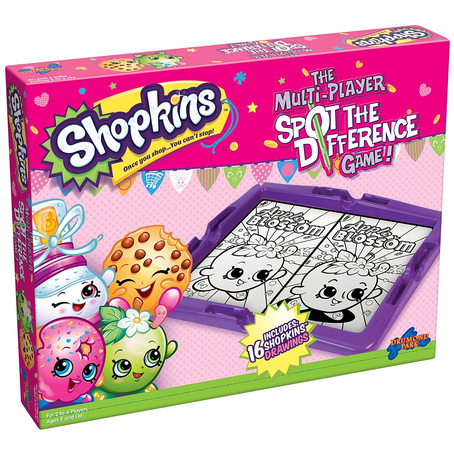 SHOPKINS MAKE YOUR OWN CARDS CRAFT KIT PARTY BAG GIFTS RRP £4.99 EACH