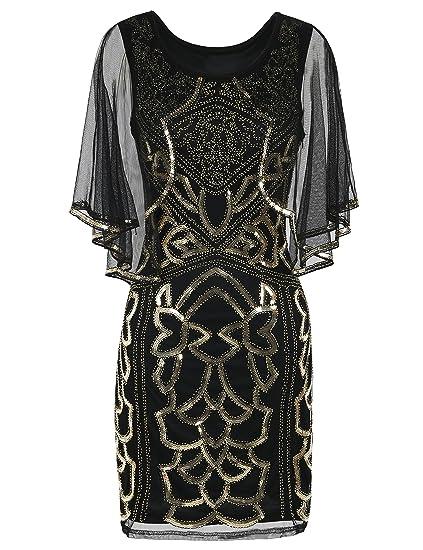Amazon Prettyguide Womens Flapper Dress 1920s Inspired Sequin