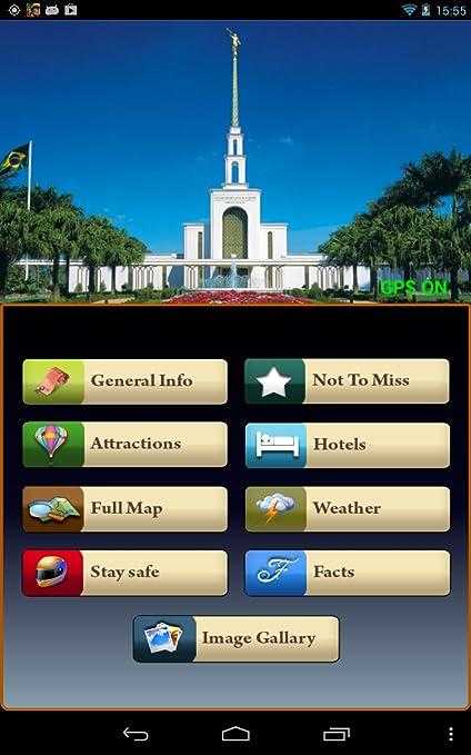 Amazon com: Sao Paulo Offline Map Travel Guide: Appstore for