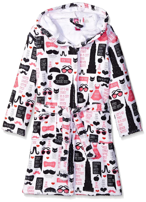 756d162e9 Amazon.com  Up Past 8 Girls  Fuzzy Hooded Robe  Clothing