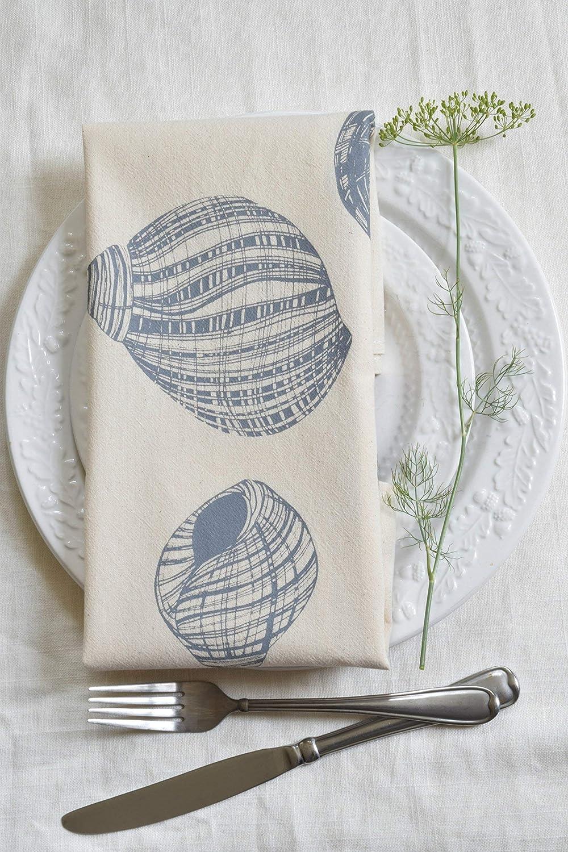 Organic Cotton Periwinkle Shell Napkins
