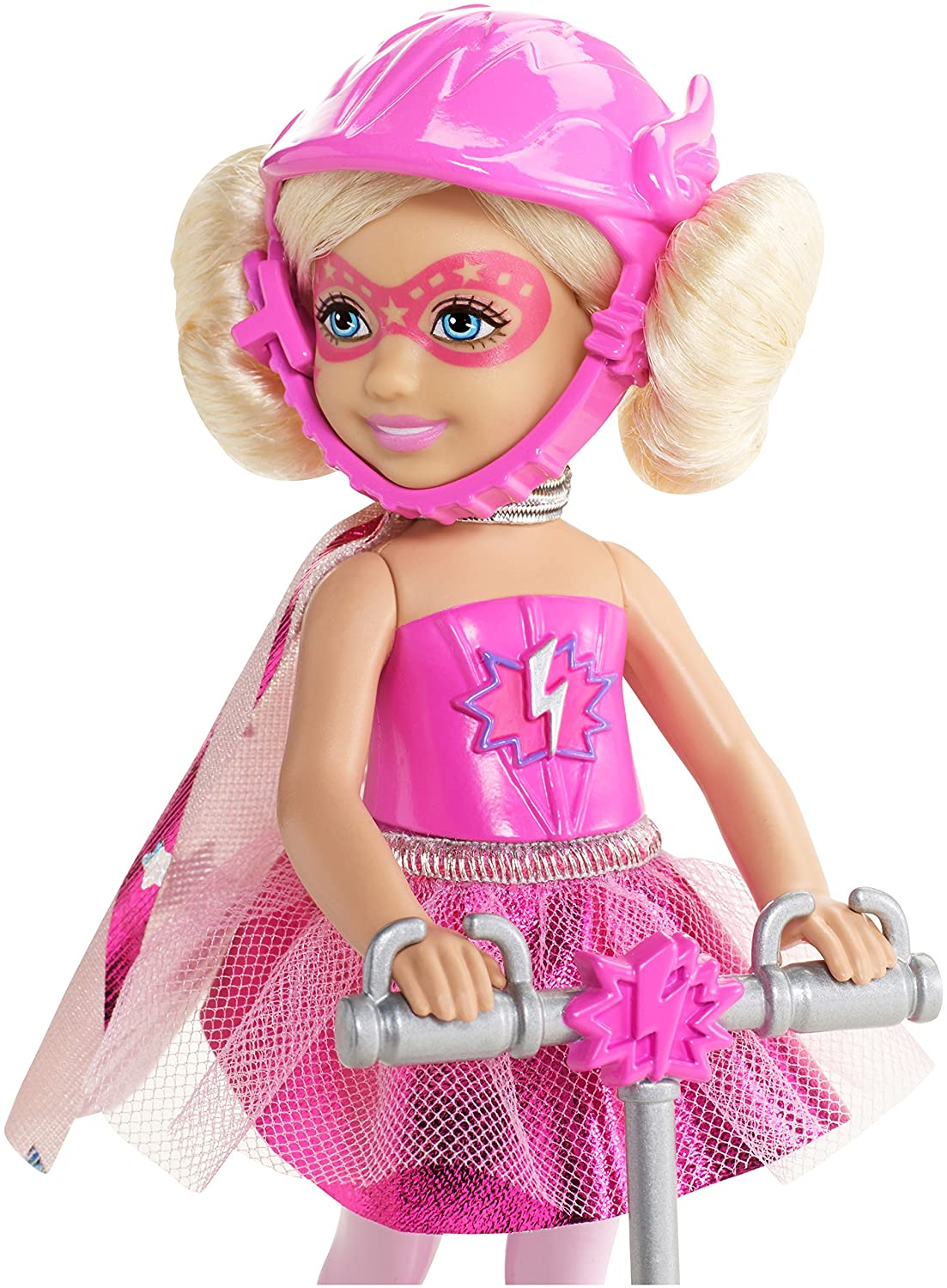 Amazon.com: Barbie en la princesa poder Chelsea y Scooter ...