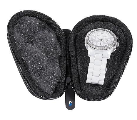Amazon.com: casematix caja de reloj caja de viaje para mujer ...
