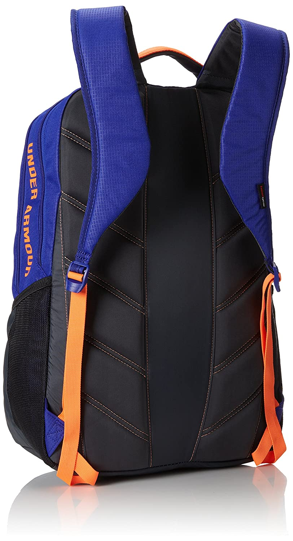 Under Armour 1241784-500 Exeter - Mochila para mujer (46 x 28 x 23 cm), color negro, azulón y naranja: Amazon.es: Deportes y aire libre