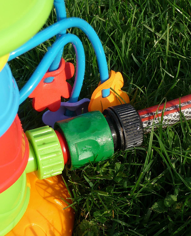 WIM SHOP Kinder Wasser Spritzer Raupe mit 8 Spritz Armen