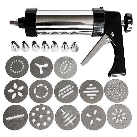 """Pistolas para Hacer Galletas (22 Piezas)  - 25.5cm /10"""" x 13cm"""