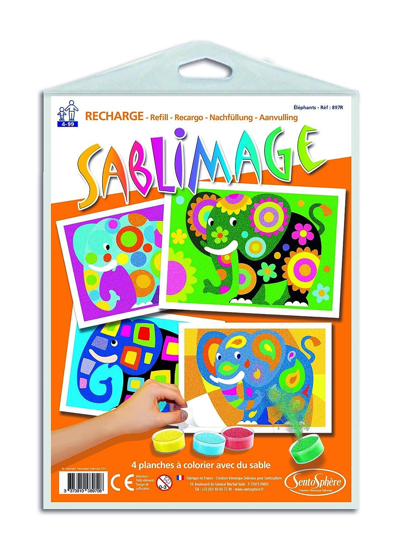 Arts and Crafts for Kids Sablimage Farm Animals Sand Art