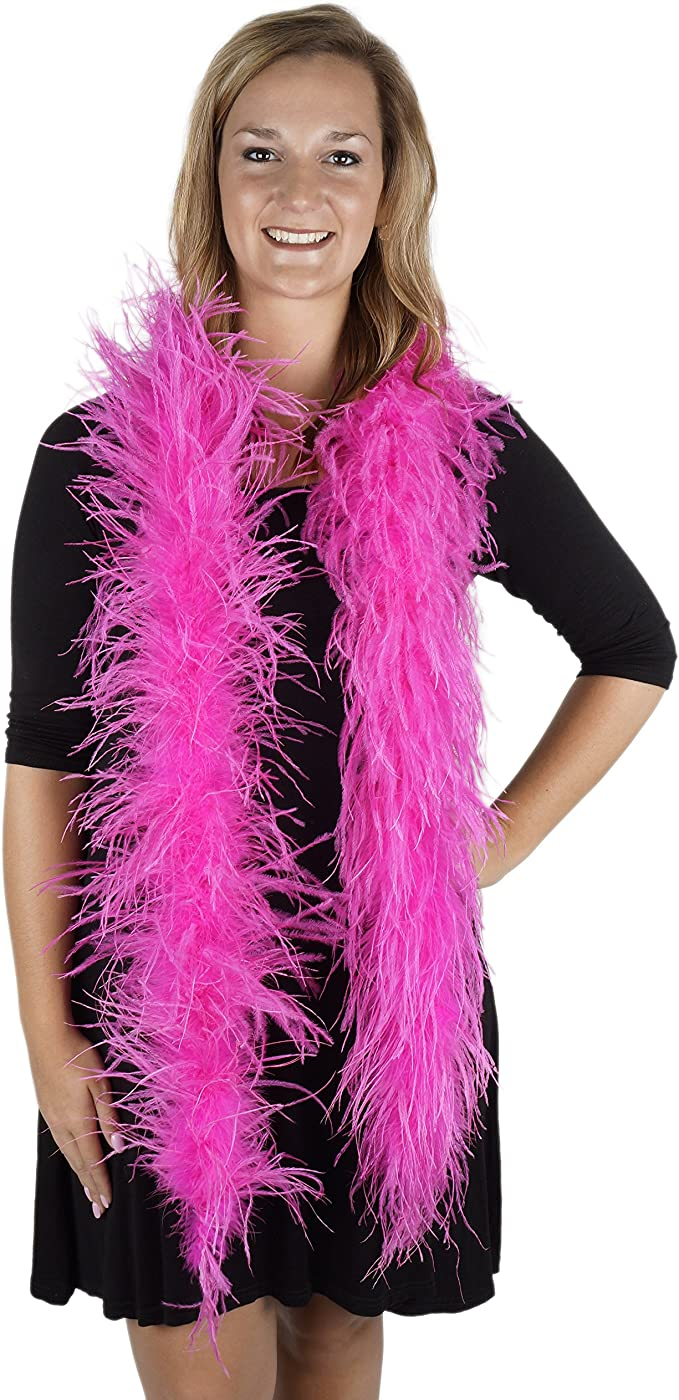 BEIGE 2 Yards Costume//Halloween//Boas//Burlesque 80 Gram CHANDELLE FEATHER BOA