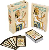 Egyptian Tarot: Book and Card Set, 78 cards and 160 page book