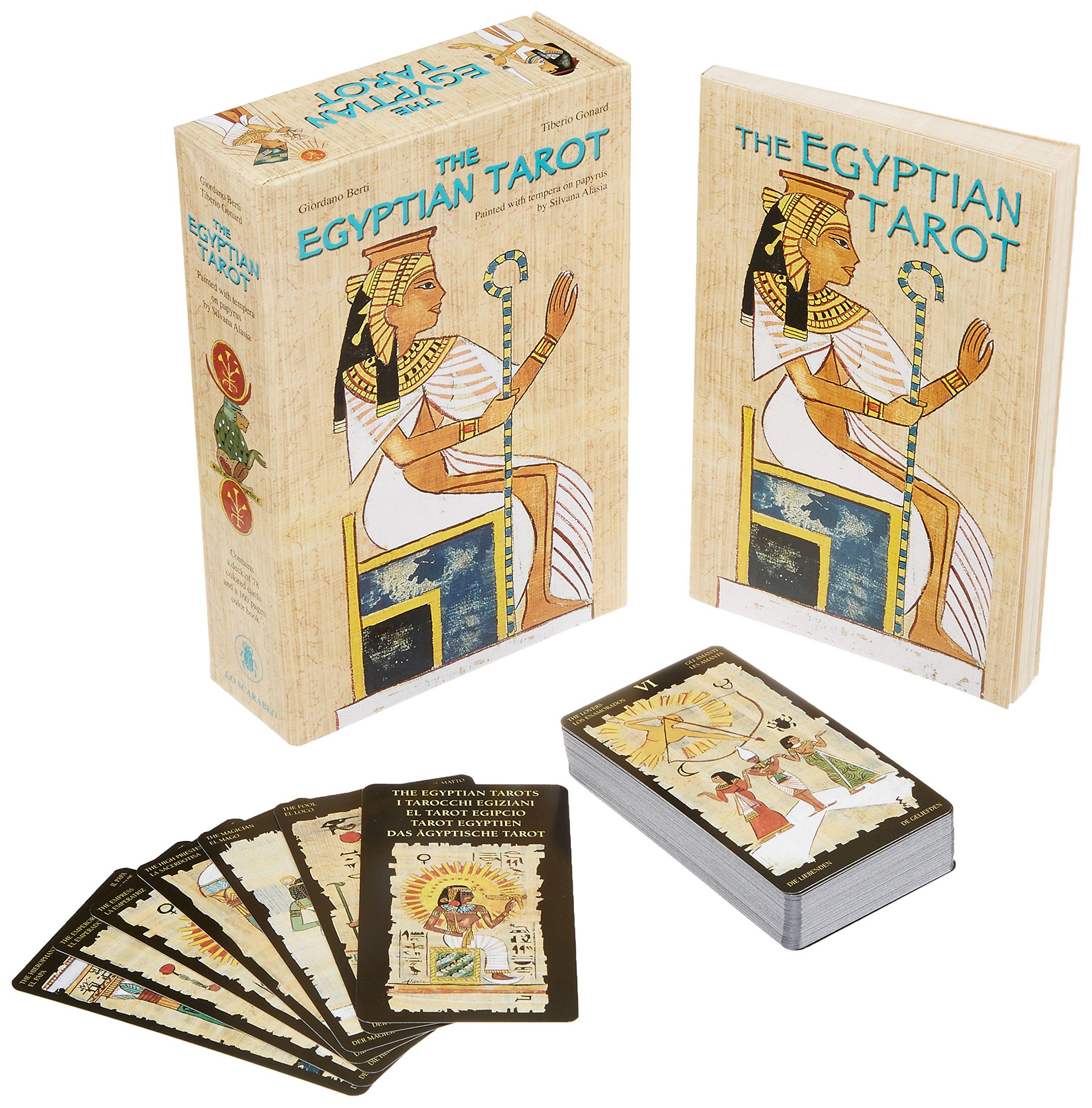 Egyptian Tarot: Amazon.es: Giordano Berti, Silvana Alasia ...