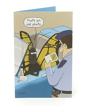 Lustige geburtstagskarte comic