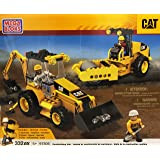 First Builders - CAT excavadora y apisonadora (Mega Bloks 97805)