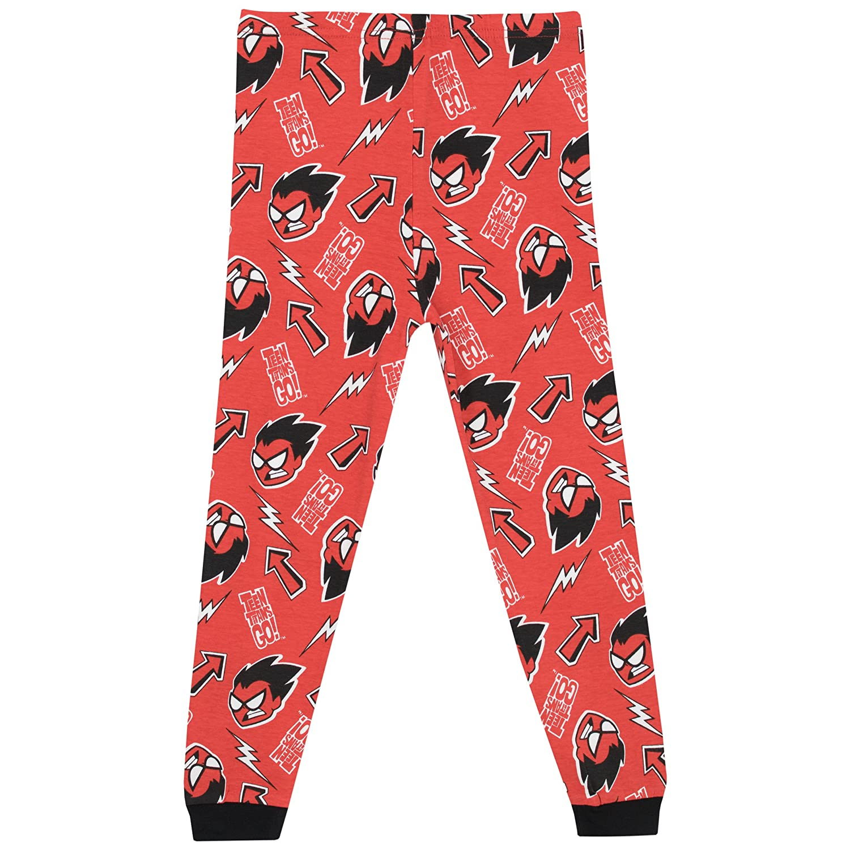 Boys Teen Titans Pajamas Size 8: Clothing