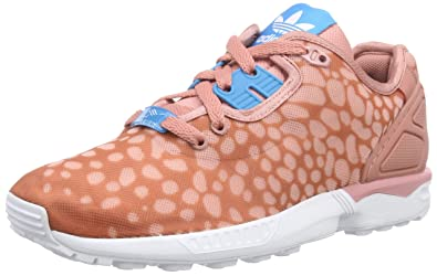 best service 47162 31c53 adidas ZX Flux Decon Ladies High Sneakers Pink Size 4 UK
