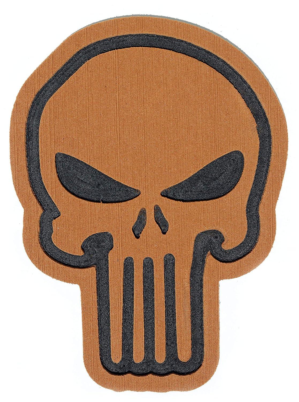 Toejamr Snowboard Stomp Pad Brown Sniper Skull