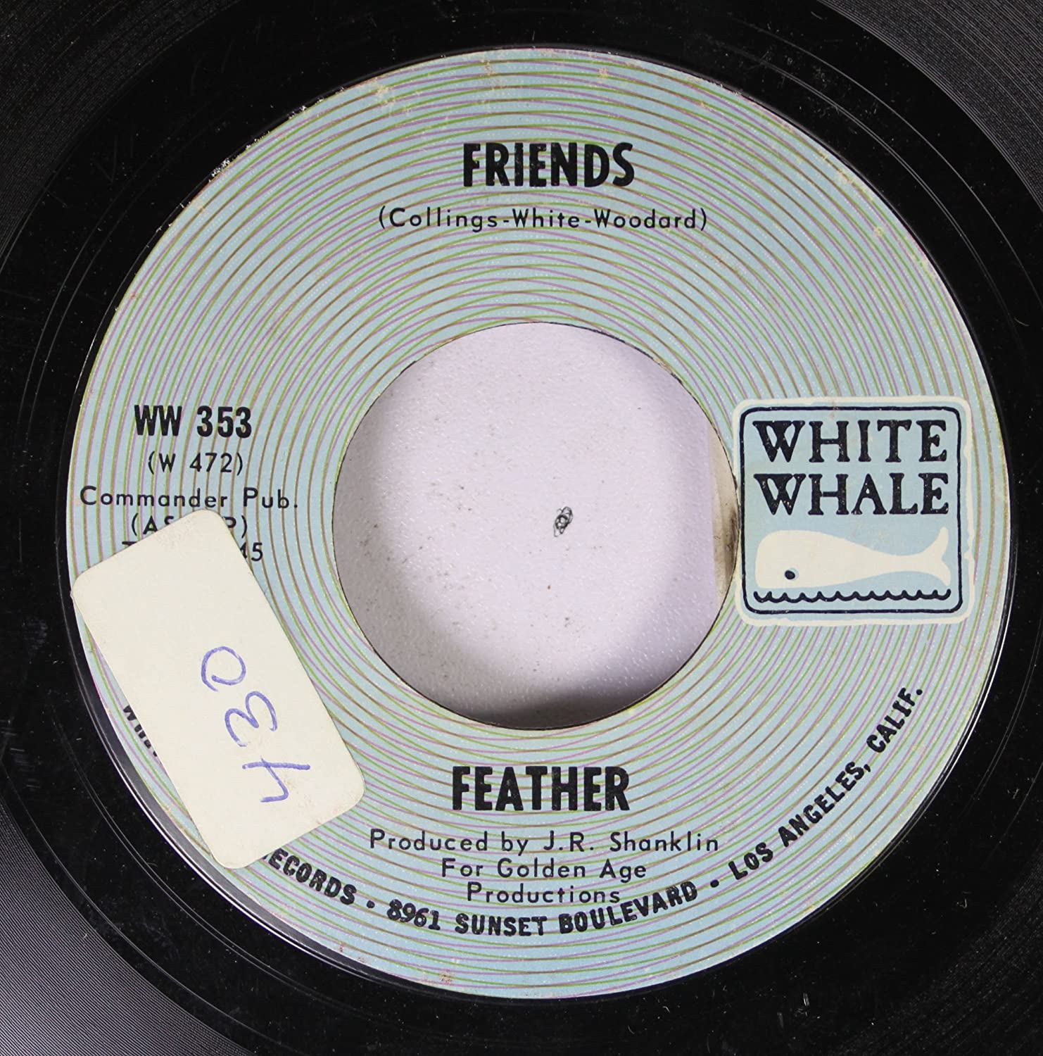 FEATHER - FEATHER 45 RPM Friends / Salli - Amazon.com Music