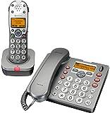 Audioline amplicomms PowerTel 880 combo - téléphone grande touche