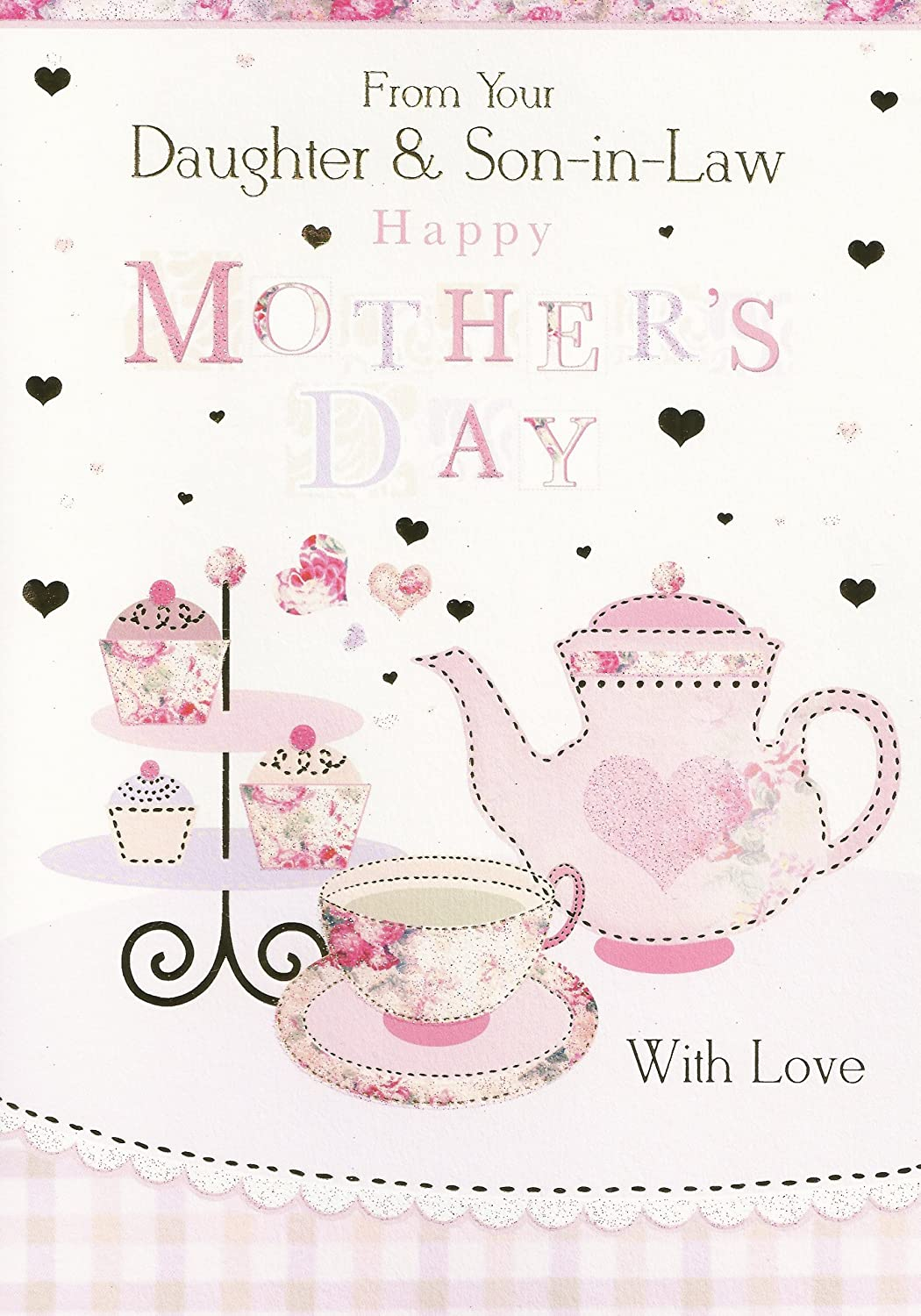 Amazon From Your Daughter Son In Law Happy Mothers Day Card