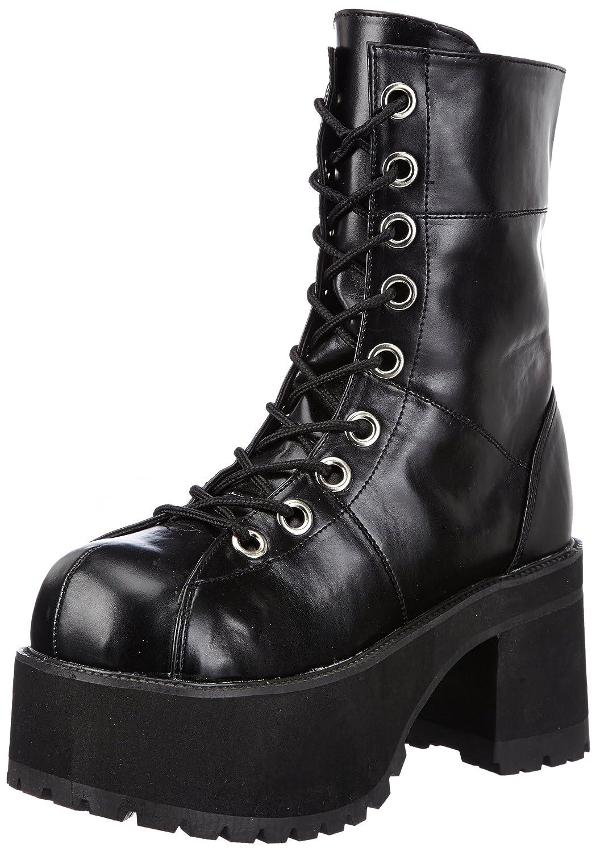 Pleaser Women's Ranger-301 Platform Boot B00EWC493Q 8 B(M) US|Black
