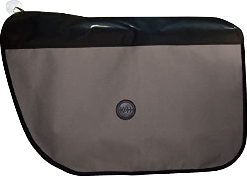 K H Pet Products Vehicle Door Protector Gray 19 x 27 – Protects your car doors from pet scratches