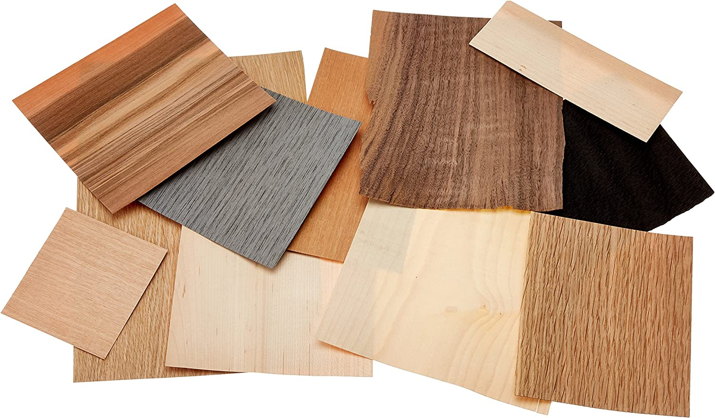 100 g 21x3x19 cm Off Cuts Brown Mould Master Assorted Veneer Wood