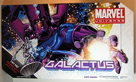 Marvel Universe Masterworks Galactus with Silver Surfer