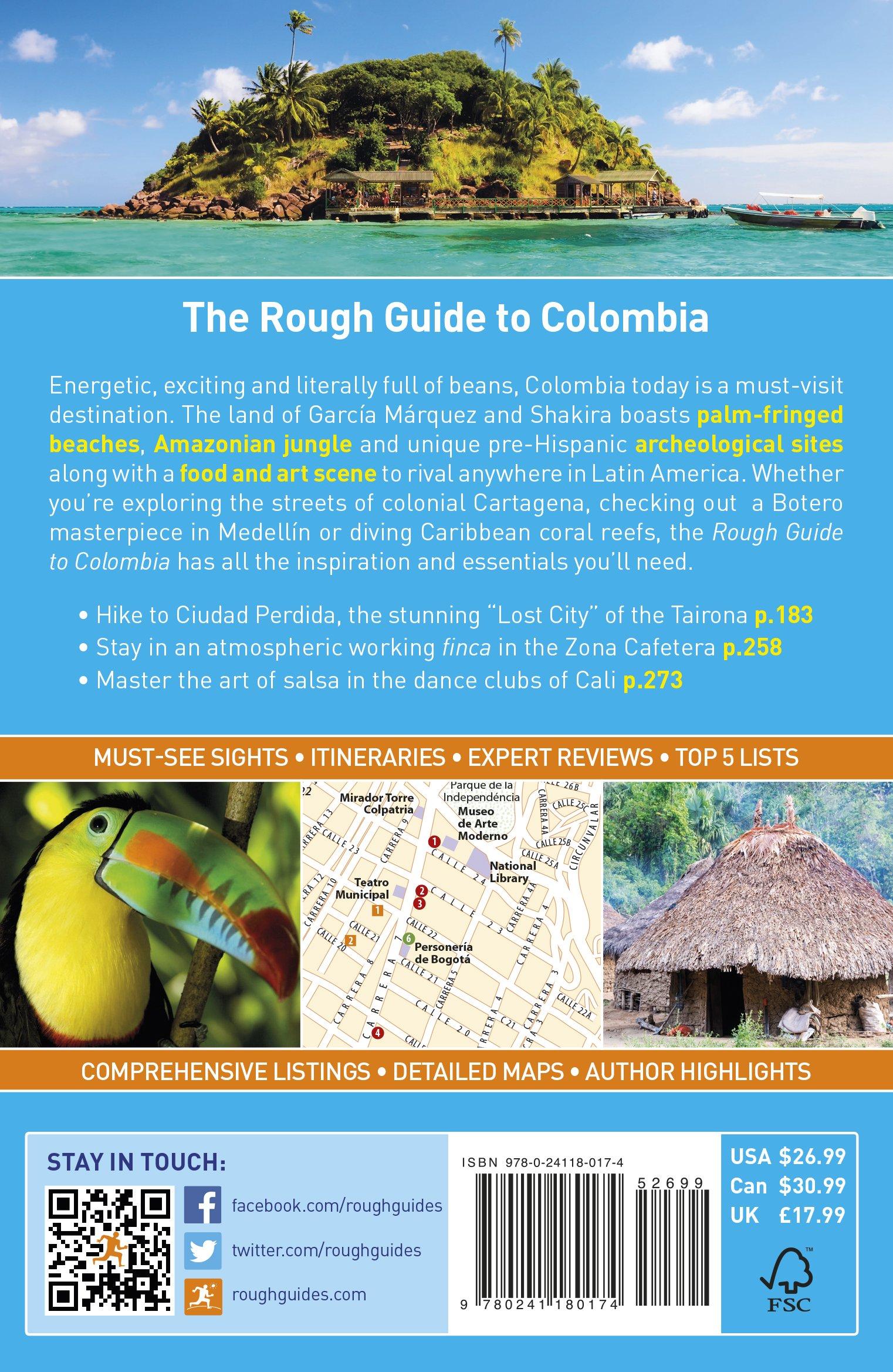 Colombia. Rough Guide (Rough Guides) [Idioma Inglés]: Amazon.es ...