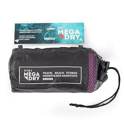 Toallas de microfibra MEGA DRY de la marca Ocean5 - toalla de viaje de secado super rápido, ...