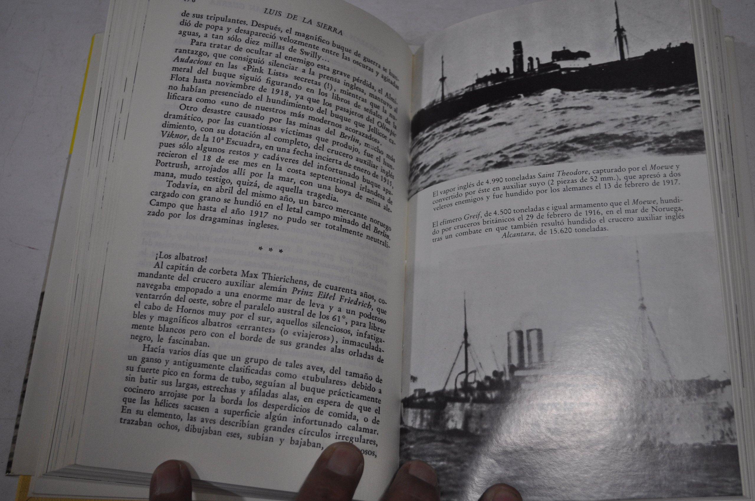 CORSARIOS AL. GRAN GUERRA (EN EL MAR Y LA MONTAÑA): Amazon.es: Luis De La Sierra: Libros