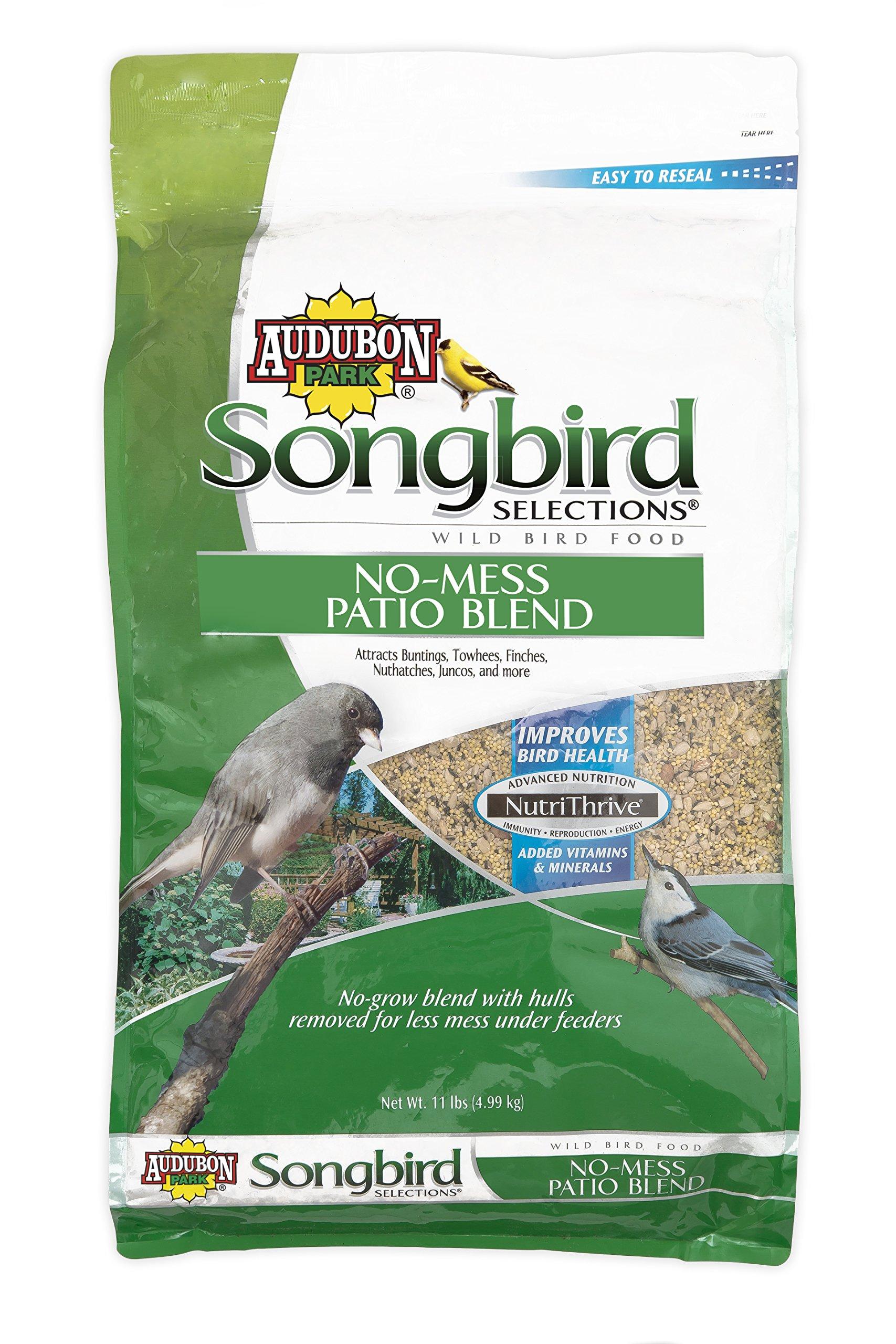Songbird Selections 11986 No-Mess Patio Blend Wild Bird Food, 11-Pound by Songbird Selections