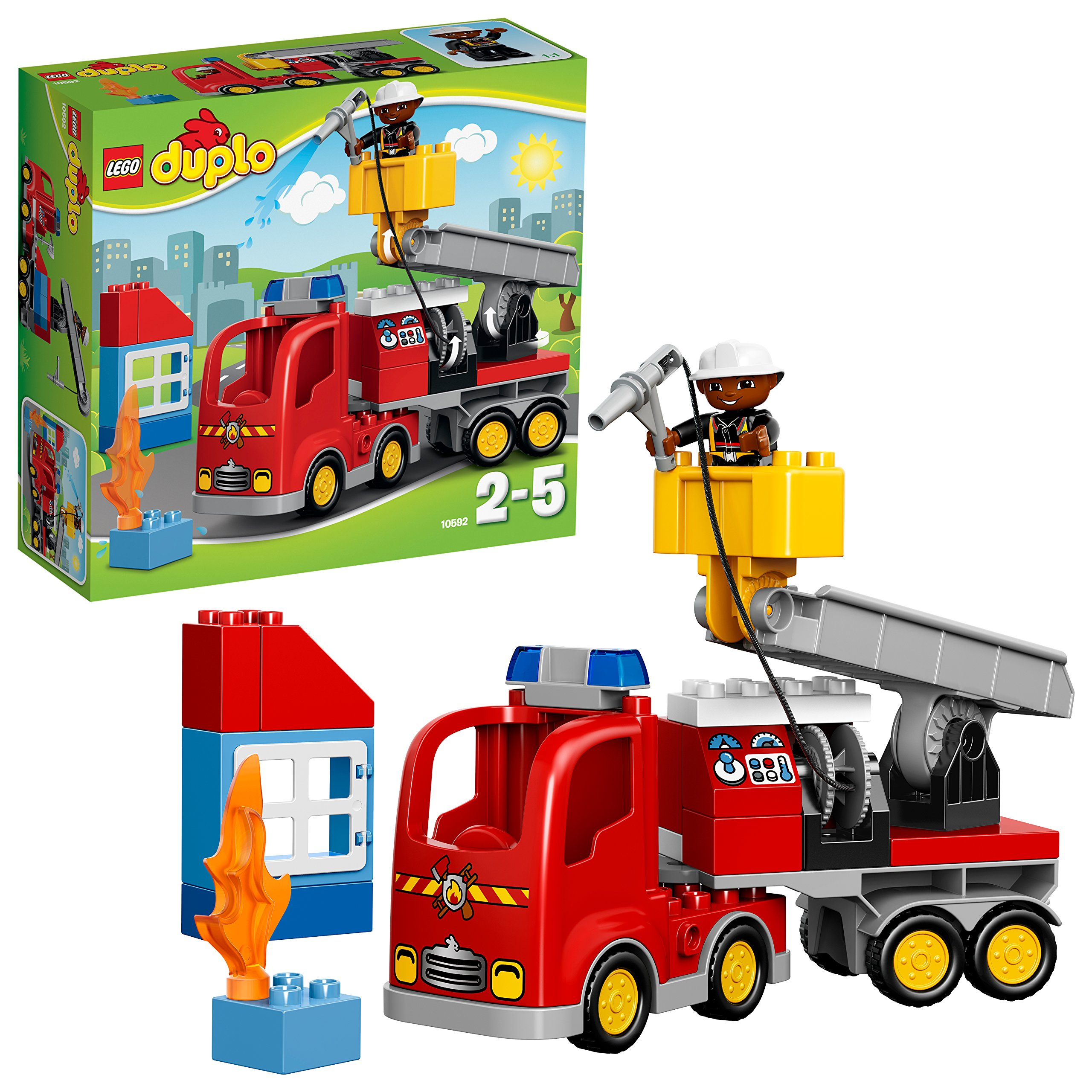 LEGO Duplo 10592 - Autopompa Dei Pompieri product image