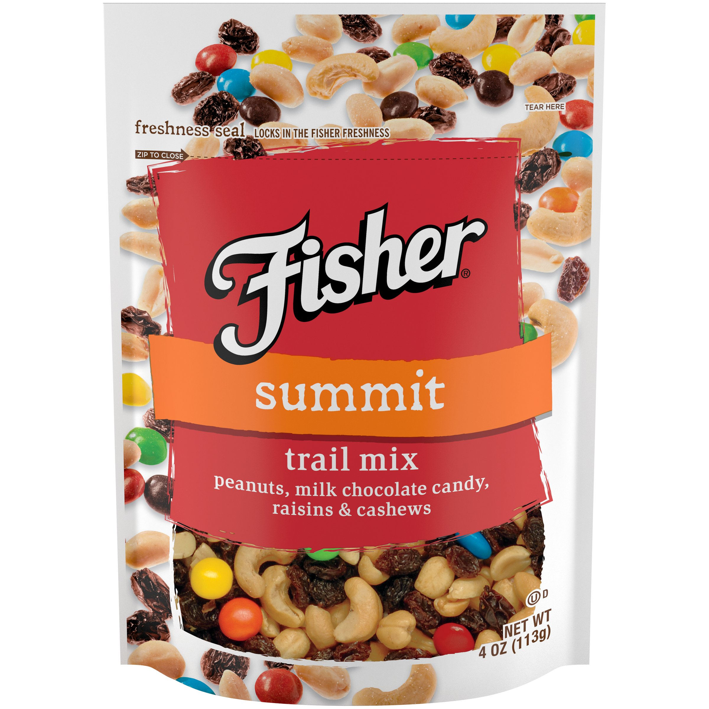fisher hunger fighter trail mix 4 ounce pack of 6 amazon com