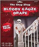 Amscan International 220507 Gauze Bloody Draping