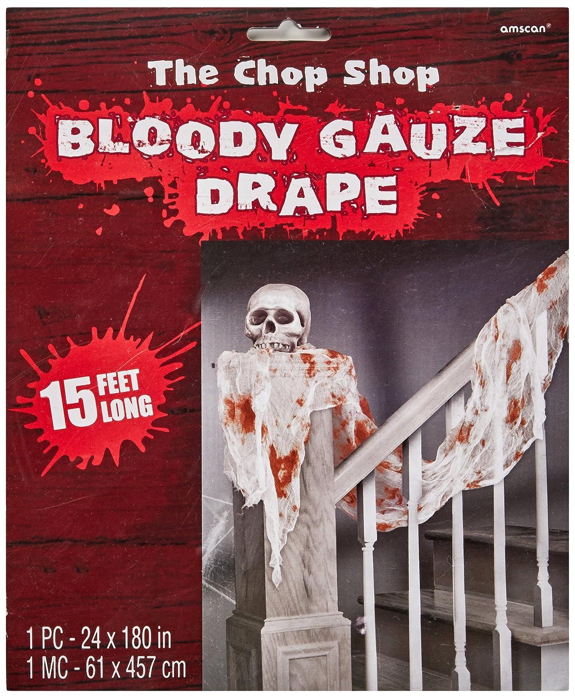 Amscan International 220507 Gauze Bloody Draping Amscan International Ltd