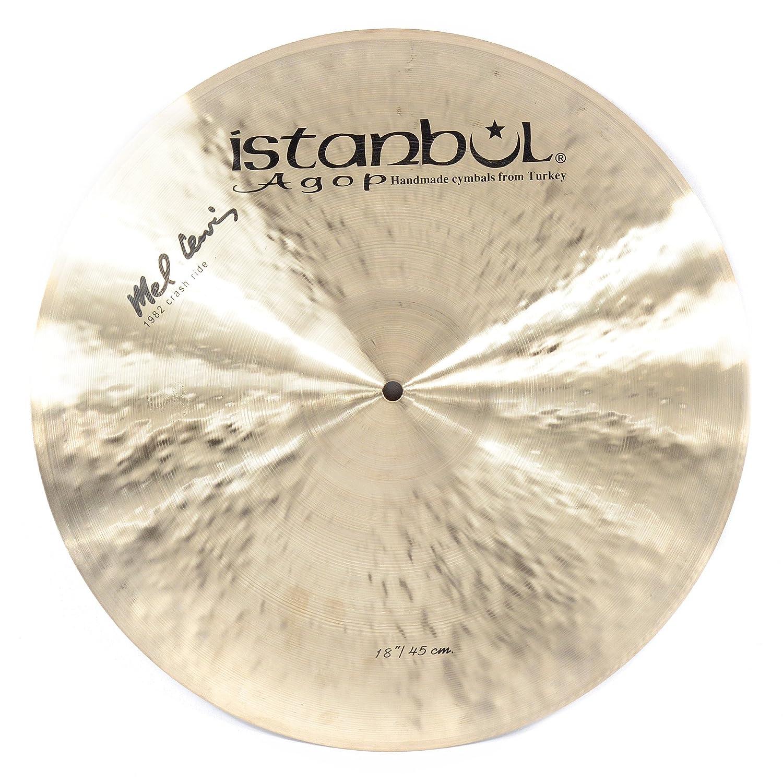 """Istanbul Agop 18"""" Signature Mel Lewis Crash Ride"""