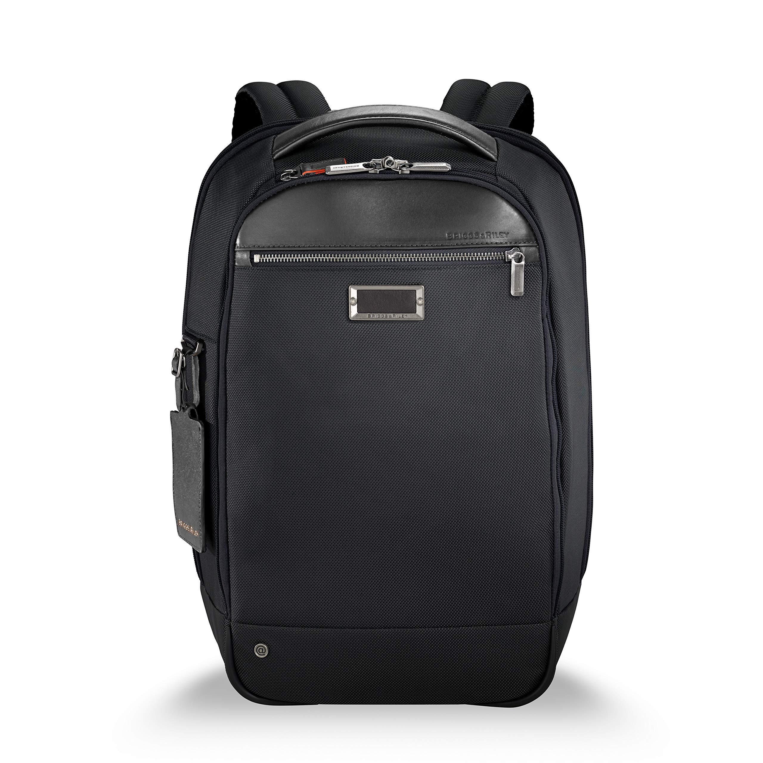 Briggs & Riley @work Medium Slim Backpack, Black