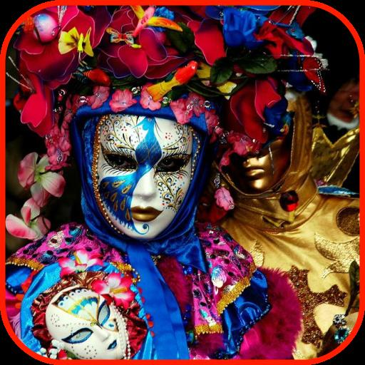 Mardi Gras Venice (Carnival Wallpaper)