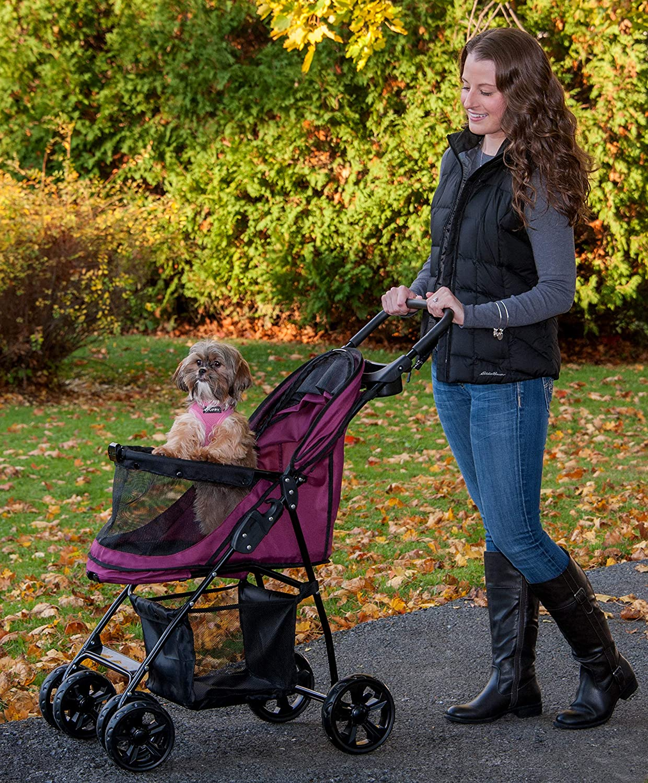 Amazon.com: Pet Gear Happy Trails Lite Cochecito para ...