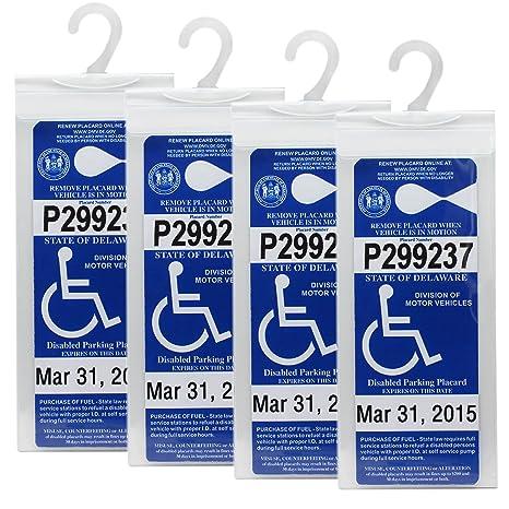 Amazon.com: LotFancy Handicap - Funda para cartel de ...