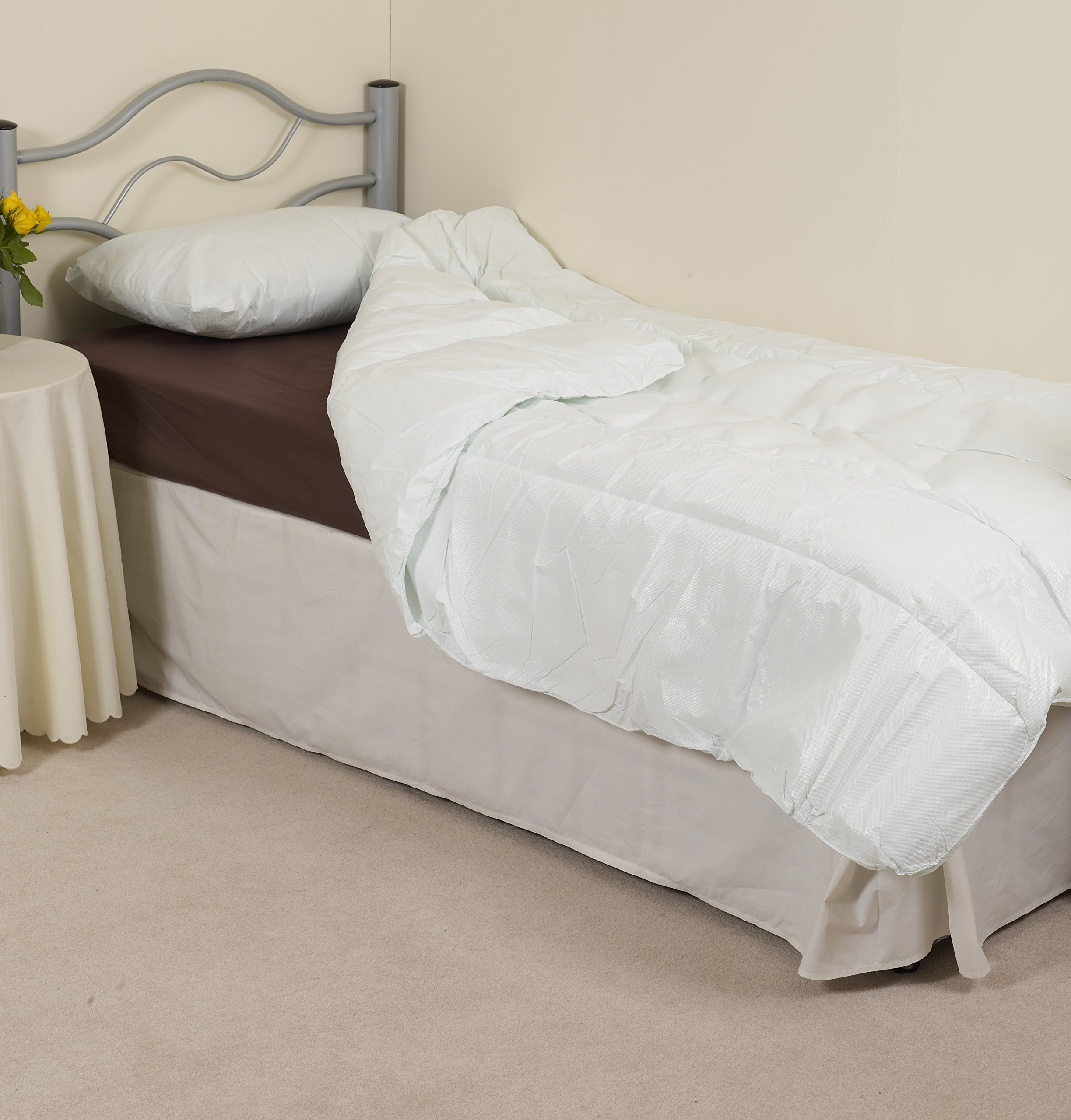NRS Healthcare Single Waterproof and Wipe Clean Duvet (Eligible for VAT relief in the UK) by NRS Healthcare