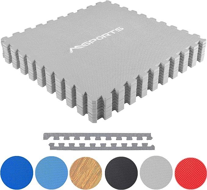 8x Bodenschutzmatten Set Unterlegmatten Bodenschutz Schutzmatten Puzzlematte DP