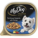 MY DOG Home Recipe Casserole Wet Dog Food 100g Tray, 12 Pack